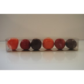 TUBE DE 6 BOULES FRUITS T6BF