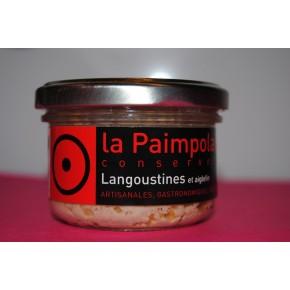 Rillettes de Langoustines au foie gras et piment d'espelette
