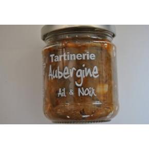 Tartinerie Aubergine Ail Noix