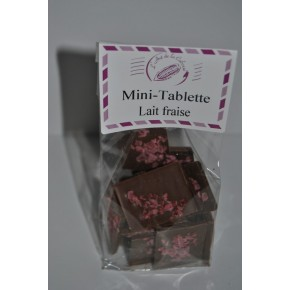 MINI TABLETTE LAIT FRAISE