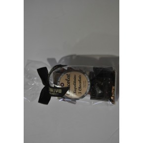 Napolitains 3 chocolats 150grs